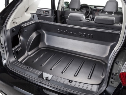 Carbox CLASSIC Kofferraumwanne Laderaumwanne Kofferraummatte SsangYong Musso