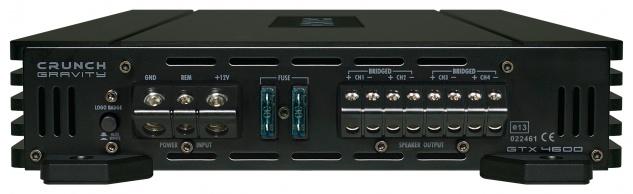Crunch Gravity 4-kanäle Verstärker Endstufe Auto Pkw Kfz Gtx-4600 - Vorschau 4