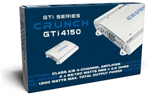 Crunch Gti4150 4-kanal Verstärker Endstufe Kfz Auto Pkw Gti 4150 - Vorschau 4