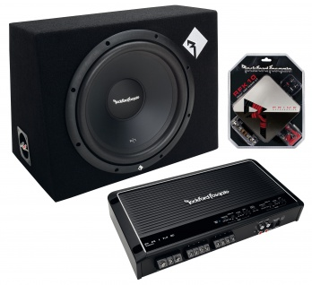 ROCKFORD Basspaket FOSGATE Sound Solution Kit SSK 600 MkII