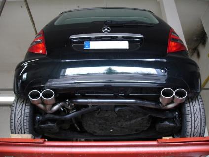 Fox Duplex Auspuff Sportauspuff Sportendschalldämpfer Mercedes A-Klasse W169