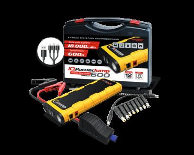 Panther IQ PowerJump 600 12V PKW Startbooster Starthilfe Jumpstart 600A