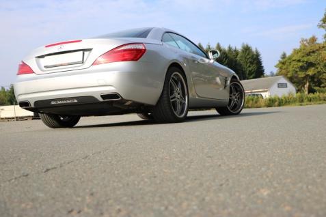 Fox Duplex Auspuff Sportauspuff Komplettanlage Mercedes SL R231 3, 5l 225kW