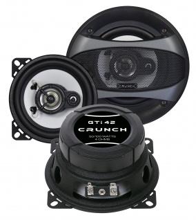 CRUNCH KOAX Lautsprecher Auto Boxen Set 10 cm GTI-42 100 Watt PKW KFZ