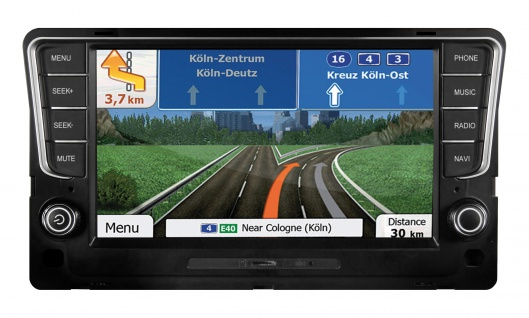 ESX Naviceiver VNS810-VW-G7 -DAB ohne Navisoftware VW Golf 7 DAB+ Tuner