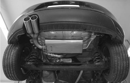 Fox Auspuff Sportauspuff VW Beetle 16 5C Coupe, Cabrio 1, 2l 77kW Starre HA