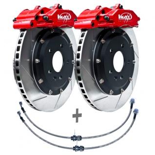 V-Maxx Big Brake Kit 330mm Bremsanlage Bremsen Set VW Polo 6R incl. WRC Bj. 09-
