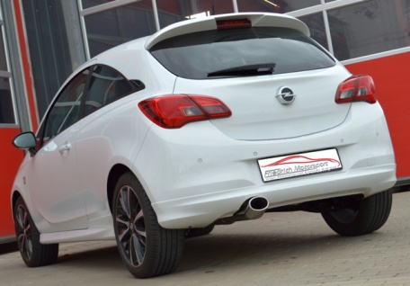 Friedrich Motorsport Gruppe A Auspuff Sportauspuff Anlage Opel Corsa E 1.0 Turbo