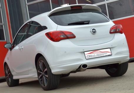 Friedrich Motorsport Gruppe A Auspuff Sportauspuff Anlage Opel Corsa E