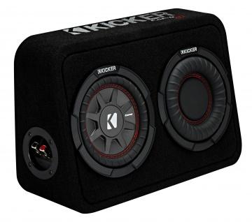KICKER Subbox TCompRT672 16, 5cm Auto Car PKW Hifi Subwoofer Bassbox 300 Watt MAX