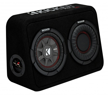 KICKER Subbox TCompRT674 16, 5cm Auto Car PKW Hifi Subwoofer Bassbox 300 Watt MAX