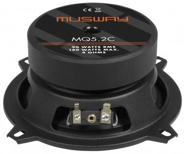 MUSWAY 2-Wege System MQ-5.2C System Auto Car PKW Hifi Boxen Lautsprecher Paar - Vorschau 2