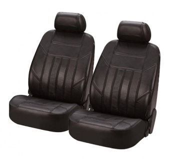 Sitzbezug Sitzbezüge Ledersitzbezug aus echtem Leder schwarz VW Golf VI Plus