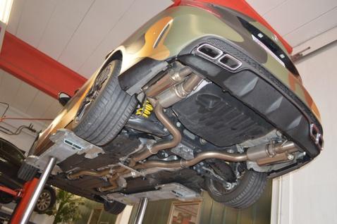 Friedrich Motorsport 2x76mm Duplex Sportauspuff Anlage Mercedes S/W205 C63 S AMG