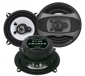 CRUNCH KOAX 13 cm GTI-52 Lautsprecher Auto Boxen Set 150 Watt PKW KFZ