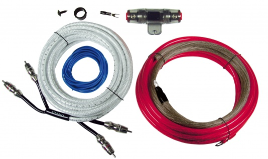 HIFONICS Premium Kabelset 16 mm² HF16WK Kabel Set für Endstufe Verstärker