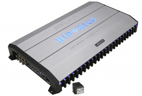 Hifonics Atlas Hybrid 5-kanäle Verstärker Endstufe Auto Pkw Kfz Arx-5005 - Vorschau 1