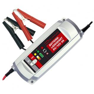 Dino KRAFTPAKET Batterieladegerät 6V 12V 3A KFZ Auto Motorrad Batterie Ladegerät