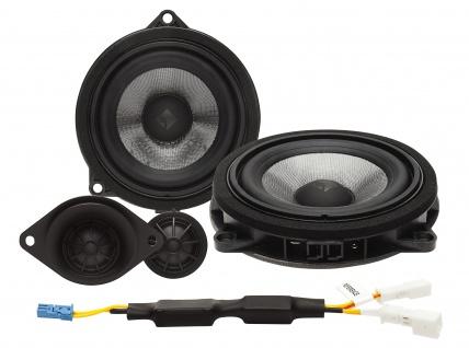 ROCKFORD FOSGATE POWER Kit T3-BMW1 10 cm 2 Wege Lautsprecher System BMW