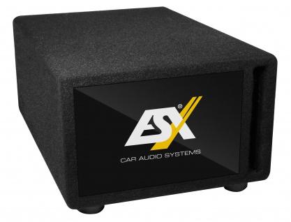 """ESX Kompakt-Subwoofer DBX-200Q Untersitz Subwoofer 15x23cm 6x9"""" 400 Watt 2x2 Ohm"""