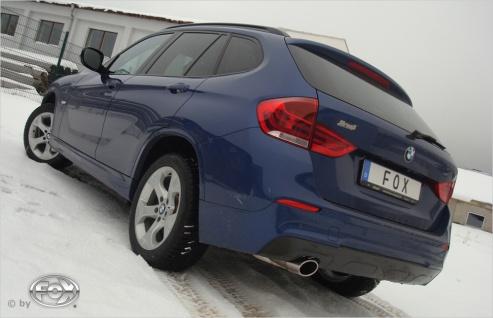 Fox Auspuff Sportauspuff Endschalldämpfer BMW X1 E84 2, 0l 100/105/120/130/150kW