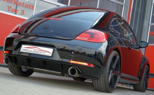 Friedrich Motorsport Gruppe A Duplex Auspuff Sportauspuff Anlage VW Beetle 5C