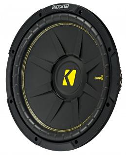 "KICKER 12"" Woofer CompC124 30cm Auto Hifi Subwoofer Bassbox 600 Watt MAX"
