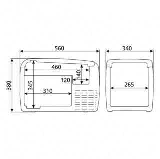 Dometic Waeco CoolFreeze CDF-36 Kompressor Kühlbox Kühltruhe Kühlschrank 12V 24V - Vorschau 5