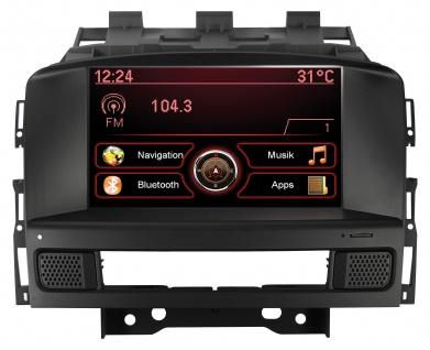 ESX Naviceiver VN709-OP-ASTRA Opel Astra J 09-15 Opel Cascada 13- Bluetooth Navi