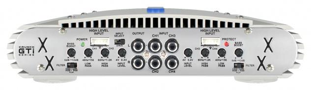 Crunch Gti4150 4-kanal Verstärker Endstufe Kfz Auto Pkw Gti 4150 - Vorschau 2