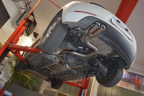 Friedrich Motorsport 76mm Sportauspuff Auspuff Anlage VW Beetle 5C und Cabrio