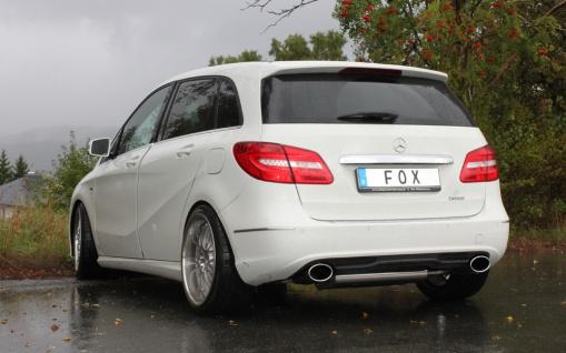 Fox Duplex Auspuff Sportauspuff Mercedes B-Klasse 246 1, 6l 90/115kW 2, 0l 155kW - Vorschau 3