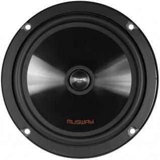 Musway Woofer 16, 5 Cm Me-6.2w System Auto Car Pkw Hifi Boxen Lautsprecher Paar - Vorschau 2