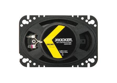 "Kicker 4x6"" Koax-ls Dsc460 2-wege Koax Lautsprecher Boxen Auto Kfz Pkw Paar - Vorschau 4"
