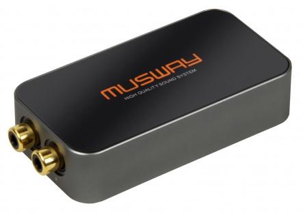 MUSWAY High Low Converter HL2 Integration