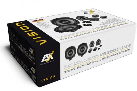 ESX VISION Kompo-Kit 20 cm VS-200C BMW Lautsprecher Set Auto Boxen Paarpreis