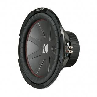 "KICKER 12"" Woofer CompR122 30cm Auto Car Hifi Subwoofer Bassbox 1000 Watt MAX"