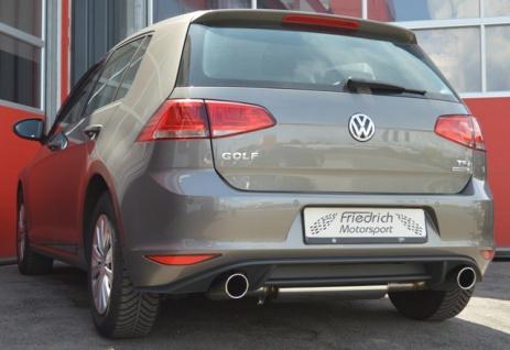 Friedrich Motorsport Duplex Auspuff Sportauspuff Auspuff VW Golf 7 ab Baujahr 08/12