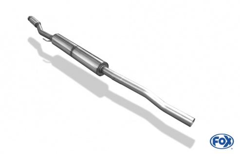 Fox Vorschalldämpfer Auspuff Sportauspuff Mini Cooper R55 1, 6l 88kW