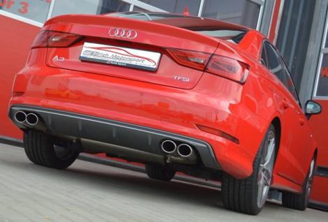 Friedrich Motorsport Duplex Sportauspuff Sportendschalldämpfer Audi A3 8V Limo