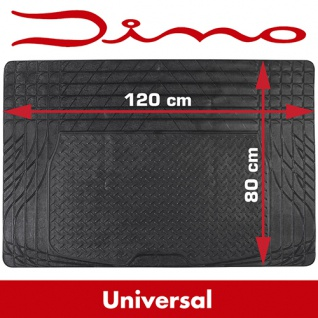 Universal Gummi Kofferraummatte Kofferraum Gummimatte Kofferraum Matte 120x80cm