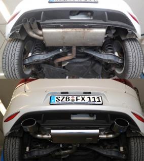 Fox Duplex Auspuff Sportauspuff Sportendschalldämpfer VW Golf VII 1, 2l ab 2013