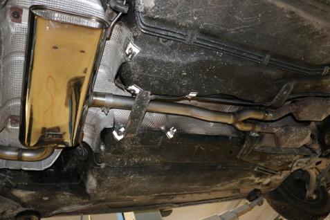 Fox Vorschalldämpfer Auspuff Sportauspuff Audi A6 4B Limo/ Avant 1, 8l 96/110kW