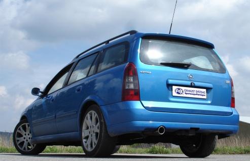 Fox Auspuff Sportauspuff Endschalldämpfer Opel Astra G OPC Caravan 2, 0 141/147kW