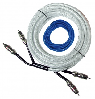HIFONICS Auto Carhifi Premium Cinchkabel Endstufe Verstärker Bassbox 5m HFP5-RCA