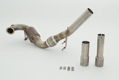 Friedrich Motorsport 63.5mm Downpipe mit Sport-Kat. VW Golf VII Variant 1.2 - Vorschau
