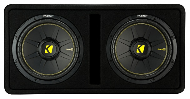 KICKER Dual-Bassreflexbox DCompC122 Dual doppel Subwoofer 2x30 cm 1.200 Watt MAX - Vorschau 3