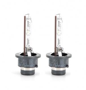 2x OSRAM D2S Xenon Brenner Lampe Glühlampe 35W NEU & ORIGINAL 66240CLC