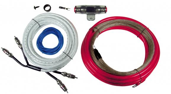HIFONICS Premium Kabelset 25 mm² HF25WK Kabel Set für Endstufe Verstärker