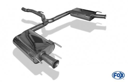 Fox Duplex Auspuff Sportauspuff Opel Insignia OPC Sports Tourer 2, 8l 239kW